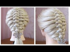 Tuto coiffure simple ✨ Belle coiffure facile à faire cheveux long/mi long ✨ Easy Hairstyle - YouTube