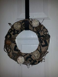 Primitive Grapevine Wreath by SheltonsCreations on Etsy, $12.00