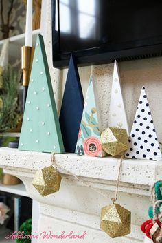 Today I've teamed up with Katie Bower from Bower Power Blog for a quick, fun and super easy DIY wooden Christmas tree craft project!