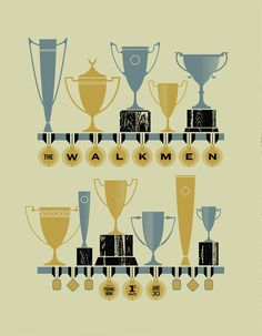 Items similar to The Walkmen Gig Poster on Etsy Band Posters, Cool Posters, Music Posters, Concert Posters, Gig Poster, Poster Prints, Winter Love, Illustrations And Posters, Album Covers