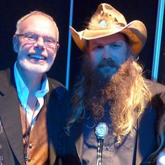 """Here's with CMA sweep winner & his wife Morgane Chris Stapleton, Image"