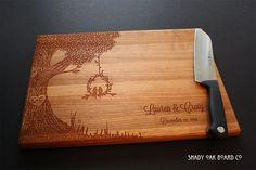 Personalized Cutting Board Custom Cutting Board by ShadyOakBoardCo