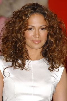 Custom Heavy Hair Density Celebrity Jennifer Lopez Long Curly Full Lace Wig About 16 Inches Curly Hair Styles, Curly Hair Cuts, Medium Hair Styles, Natural Hair Styles, Wavy Hair, Frizzy Hair, Thick Hair, Medium Curly, Long Curly