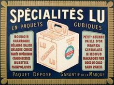 biscuits LU - vers 1900 -