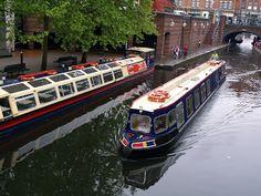 Mark's Rail Adventures: December 2012, Trip boats in Birmingham