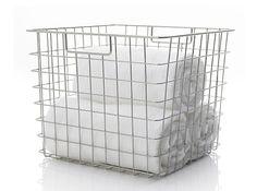 Square Wire Basket: Remodelista
