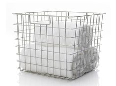 Square Wire Basket: Remodelista