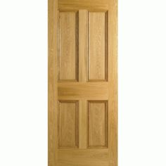Traditional Oak 4 Panel Door