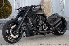 Car & Bike Fanatics: Custom Harley Davidson Chopper