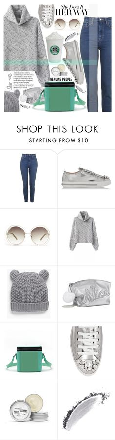 """She does it her way"" by pokadoll ❤ liked on Polyvore featuring Miu Miu, Chloé, MANGO, Victoria's Secret, Fig+Yarrow, NARS Cosmetics and Genuine_People"