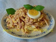 Švejkův salát – Maminčiny recepty Cabbage, Grains, Rice, Chicken, Meat, Vegetables, Scrappy Quilts, Cabbages, Vegetable Recipes