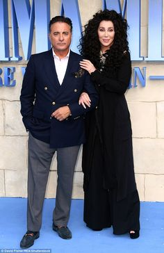 Can't wait! Mamma Mia! Here We Go Again is released in UK cinemas on July 20 2018 (Cher pictured with co-star Andy Garcia)