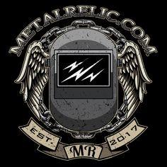 Metal Relic Welding Helmet Shirt - NeatoShop