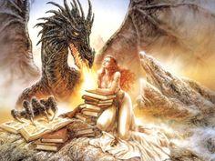 Fantasy Paintings by Luis Royo