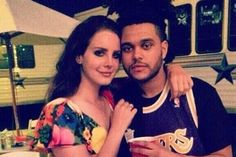 "Last night, the Weeknd and Lana Del Rey performed their Beauty Behind The Madness duet ""Prisoner"" live together for the first time. Del Rey joined Abel Tesfa..."