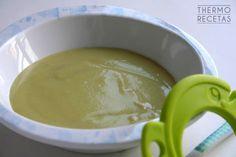 Puré de merluza y judías verdes para bebés - http://www.thermorecetas.com/pure-de-merluza-y-judias-verdes-para-b/