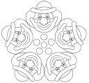 CIRC MANDALES 2 - petitmón 1 - Àlbums web de Picasa Recull de mandales per imprimir