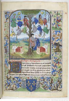 La Sommerural de Jehan Bouteiller. BNF, Français 202 , f. 9r. 1471