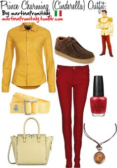 """""""Prince Charming (Cinderella) Outfit:"""" by martinafromitaly ❤ liked on Polyvore"""