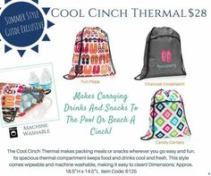 #thermal #totebags #pooltime