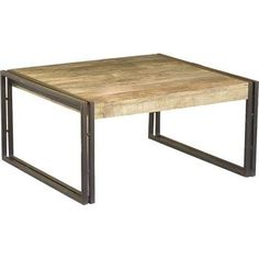 reclaimed coffee table square - Google Search