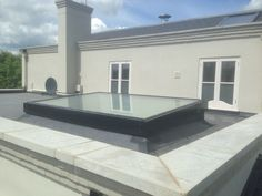 PR60 flat glass rooflight c. 2 x 3 metre overall size - in a single DGU.