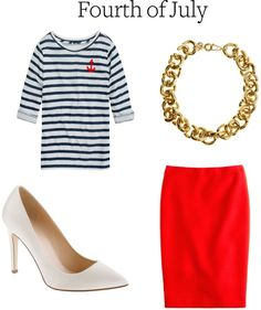 Fourth of July Outfit Inspiration for Work