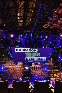 Kasparov contra o Deep Blue