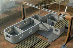 This Machine Lets You 3D Print Your Home via Brit + Co.