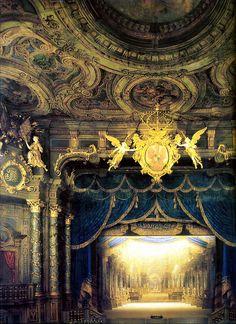 villa-rosie:  Margravial Opera House, Bayreuth