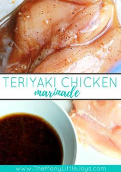 Get yourself ready for summer grilling with these 7 easy, make-ahead chicken marinade recipes. Everything you need to know to make, freeze, and grill a bunch of delicious meals with minimal effort! Soy Sauce Chicken Marinade, Teriyaki Marinade, Teriyaki Chicken Marinades, Meat Marinade, Grilled Chicken Recipes, Marinated Chicken, Fried Chicken, Grilling Recipes, Gourmet Recipes