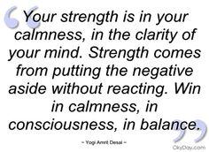 clarity quiet your mind