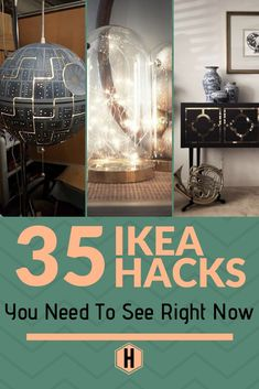 If you are looking for the best Ikea hacks for your home, we have brought together loads of great Ikea hack ideas in one place. Ikea hacks are a great way to get gorgeous, customized furniture on a budget. hacks 1 diy hacks hacks of life hacks Ikea Billy Hack, Ikea Kallax Hack, Ikea Furniture Hacks, Unique Furniture, Furniture Storage, Kitchen Furniture, Best Ikea Hacks, Ikea Organisation, Organization Ideas