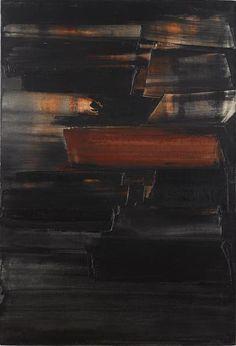 Pierre Soulages, Peinture 130 x 89 cm, 8 juin 1959