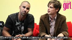 meeting Matthew Gray Gubler & Shemar Moore in TOKYO 2011.. I don't care if it's based in Japan, I love it and I love them! ♡