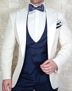 Weddings Suits Men S by Sebastian Porcellana Honeycomb Jacket Latest Mens Wear, Latest Mens Fashion, Mens Fashion Suits, Mens Suits, Men's Fashion, Fashion Clothes, Fashion Ideas, Fashion Inspiration, Fashion Trends