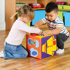 Cub Educational Get Ready / Pregătește-te Activity Cube, Soft Play, On Shoes, Physical Development, Studs, Get Ready, Safety, Backpack, Raincoat