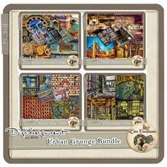 Urban Grunge Bundle (CU) by Lins Creations