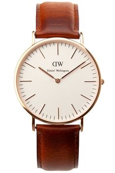 Daniel Wellington Classic St. Andrews Watch - Shop more editor's picks for the holidays at HarpersBazaar.com http://www.harpersbazaar.com/fashion/fashion-articles/best-gifts-for-women/