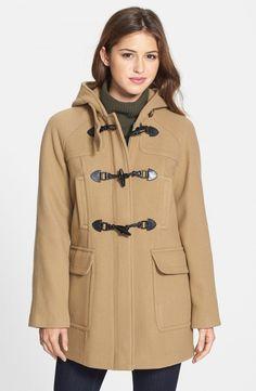 London Fog Duffle Coat with Detachable Hood