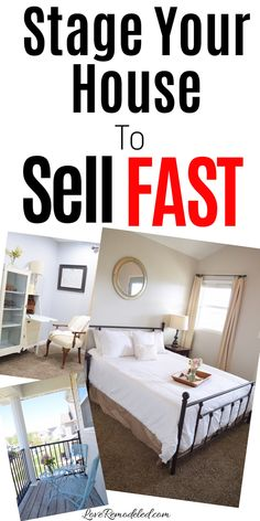 Stage your house to sell, FAST! Staging your house well helps your buyer see the potential in the house, and makes your house sell so much faster! Find out how to stage your house here. Home Selling Tips, Selling Your House, Home Buying Tips, Home Staging, Bathroom Staging, House Staging Ideas, House Ideas, Up House, Stage House For Sale