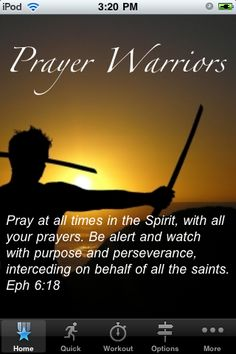 Be a Prayer Warrior ~Ephesians Spiritual Warrior, Prayer Warrior, Spiritual Warfare, Christian Life, Christian Quotes, Christian Women, Bible Quotes, Bible Verses, Scriptures