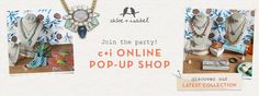 Shop now and 20% will be donated to the Alzheimer's Association.  Use this link to shop http://www.chloeandisabel.com/boutique/bijouxdenoelle/3df260