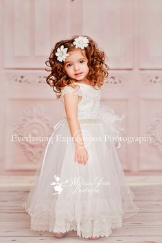 Flower Girl Dress by sharpsissors on Etsy