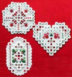Layered Christmas decorations