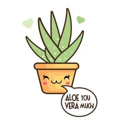 OFF Kawaii clip art Valentine clipart kawaii cactus Succulents Drawing, Cactus Drawing, Images Kawaii, Funny Food Puns, Cactus Clipart, Cute Puns, Pun Card, Clip Art, Cactus Y Suculentas