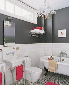 Pink & Gray Bathroom