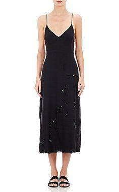 The Row Lamoca Midi-Dress - Mid - Barneys.com