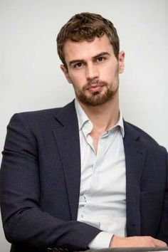 Theo James❤️ (could lose the beard and cut hair tho)