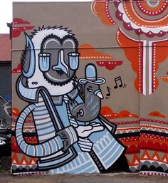 Street art | Mural by Reka One [aka James Reka]